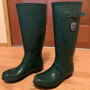 Kamik Shoes - Kamik Hunter Green Rain Boots